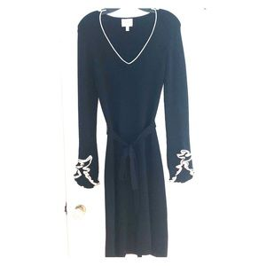Stunning Milly Swingy Knit Tie Waist Dress
